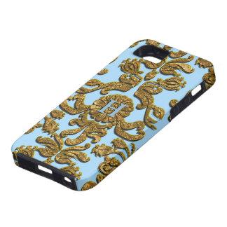 Bandwright Damask Harbor Victorian Tough iPhone SE/5/5s Case
