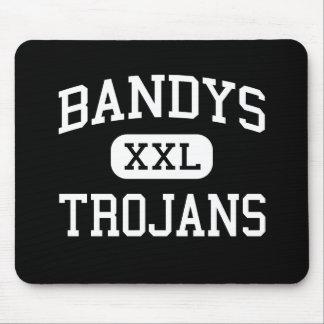 Bandys - Trojans - High - Catawba North Carolina Mouse Pad