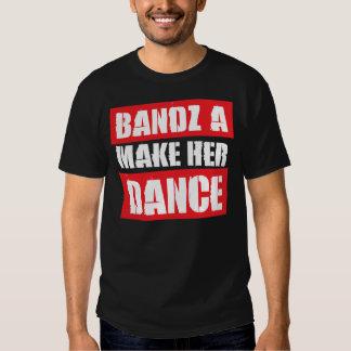 BANDZ HACEN SU DANZA - camiseta Playeras