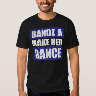 BANDZ HACEN SU DANZA - camiseta Remeras