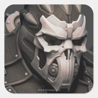 Bane Alternate - Head Square Sticker