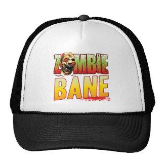 Bane Zombie Head Trucker Hat