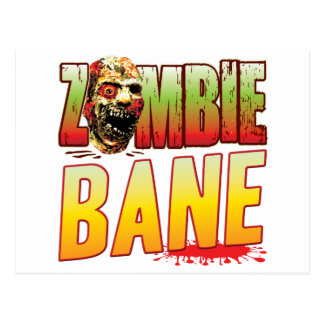 Bane Zombie Head Postcard