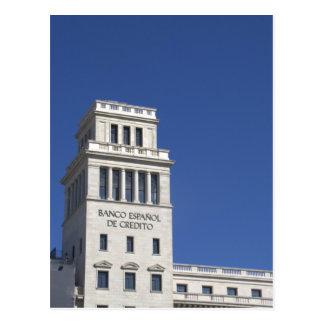 Banesto, Plaça Catalunya, Barcelona Postcard