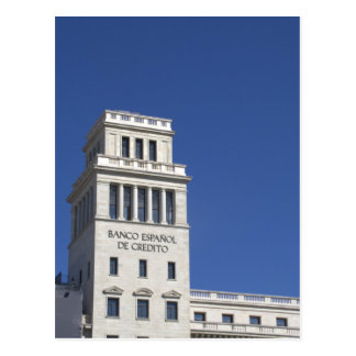 Banesto, Plaça Catalunya, Barcelona Postal