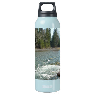 Banff Alberta Canada, Canadian National Park Insulated Water Bottle