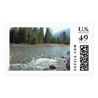 Banff Alberta Canada, Canadian National Park Stamp