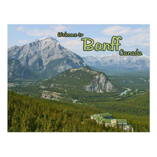 Banff Alberta Canadá Postales