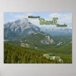 Banff Alberta Canadá Poster