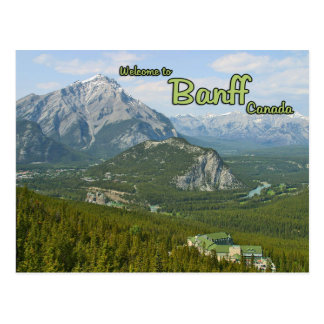 Banff Alberta Canadá Tarjeta Postal