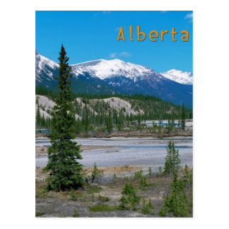 Banff Alberta Postcard