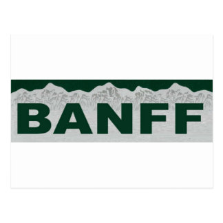 Banff, Alberta Tarjetas Postales