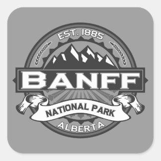 Banff Ansel Adams Pegatina Cuadrada