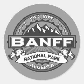 Banff Ansel Adams Pegatina Redonda