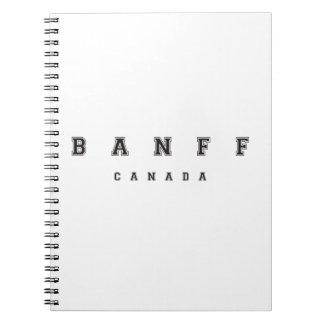 Banff Canadá Libretas