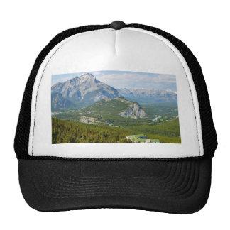 Banff Canadá visto de la montaña Gondol del azufre Gorras De Camionero