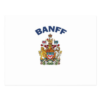 Banff Coat of Arms Postcard