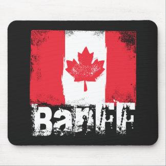 Banff Grunge Flag Mouse Pad