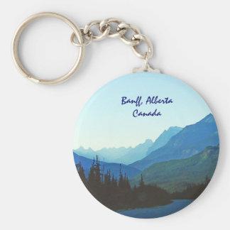 Banff Jasper Blue Keychain