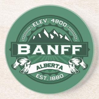 Banff Logo Forest Drink Coaster