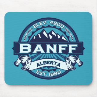 Banff Logo Ice Mouse Pad