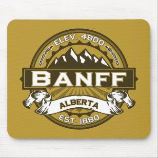 Banff Logo Tan Mouse Pad