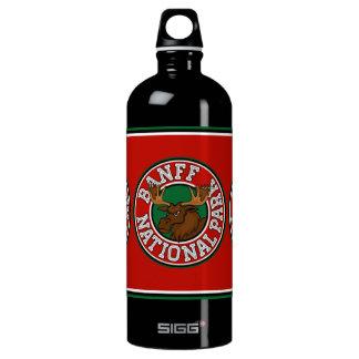 Banff Moose Circle Water Bottle