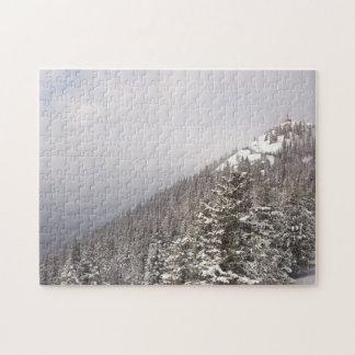 Banff Mountain Jigsaw Puzzle