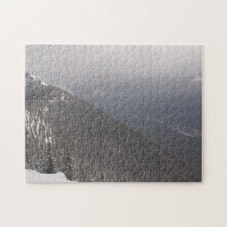 Banff Mountain View Jigsaw Puzzle