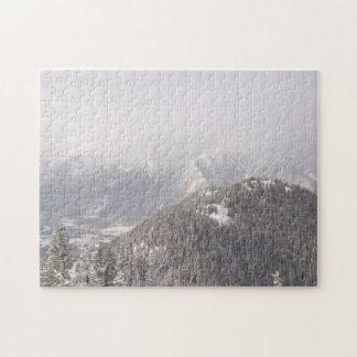 Banff Mountains Jigsaw Puzzle