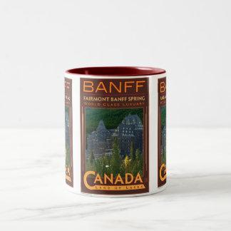 Banff-Mug Two-Tone Coffee Mug