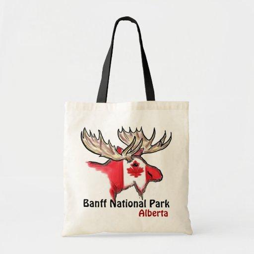 Banff National Park Alberta Canada elk bag
