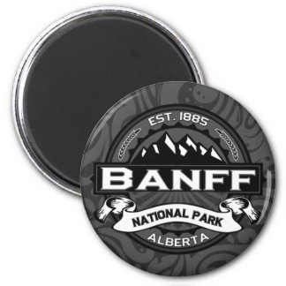 "Banff National Park ""Ansel Adams"" 2 Inch Round Magnet"