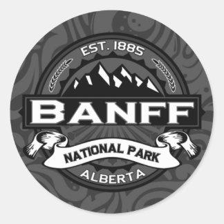 "Banff National Park ""Ansel Adams"" Classic Round Sticker"