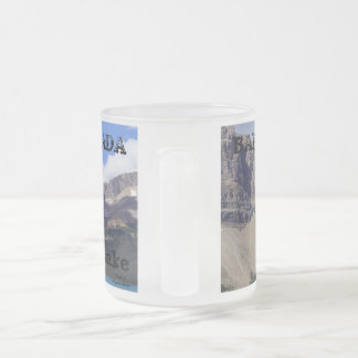 Banff National Park - Bow Lake Frosted Glass Coffee Mug