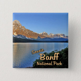 Banff National Park Button