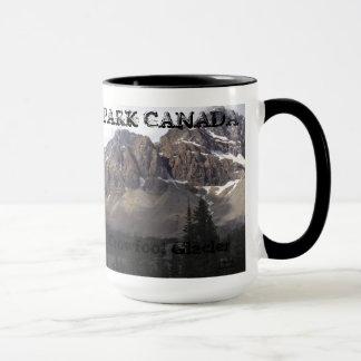 Banff National Park - Crowfoot Glacier Ringer Mug
