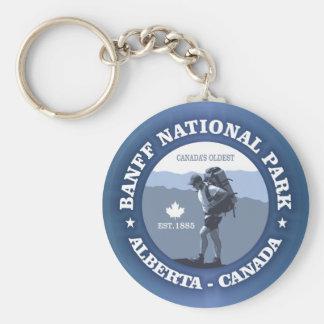 Banff National Park Keychain