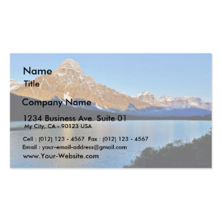Banff National Park Lake Double-Sided Standard Business Cards (Pack Of 100)