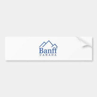 Banff national park logo bumper sticker