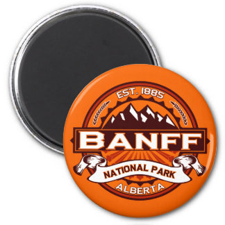 Banff National Park Logo Magnet