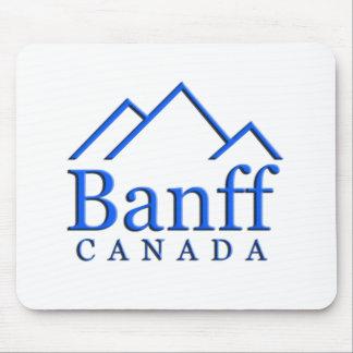 Banff national park logo mouse pad