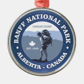 Banff National Park Metal Ornament