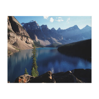 Banff National Park Moraine Lake Stretched Canvas Prints