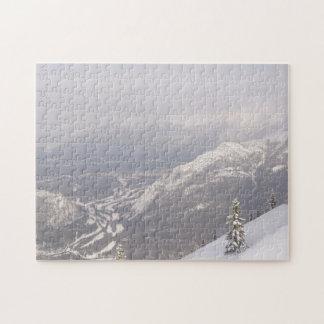 Banff National Park Mountains Jigsaw Puzzle