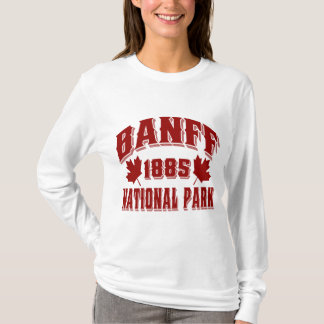 Banff NP Old Style Red T-Shirt
