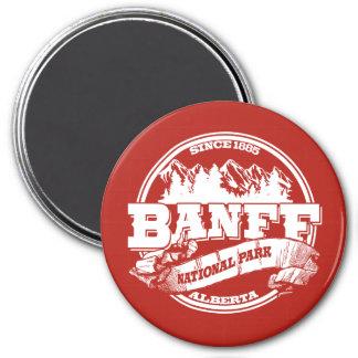 Banff Old Circle Red Magnet