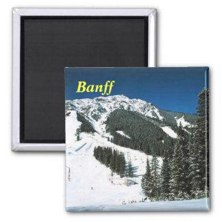 banff ski magnet