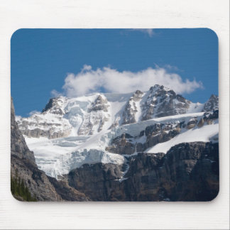 Banff Snowy Mountain Mouse Pad