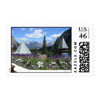 Banff Summer View Stamps